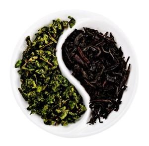 выбор между черным и зеленым чаем