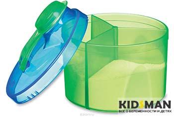 детская сухая смесь в контейнере