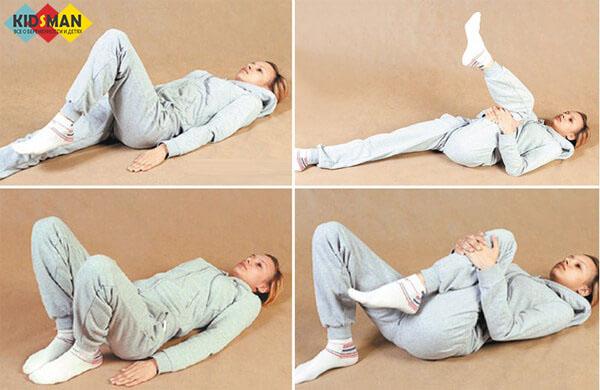 разминка в постели после родов