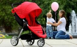 ТОП-4: Коляски с гелевыми колесами для детей