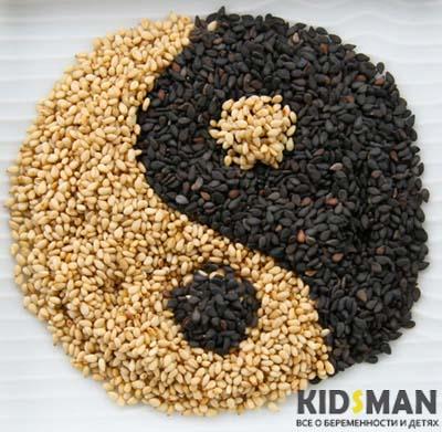 кунжутные семена
