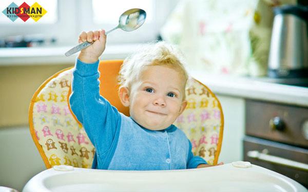 Правильное питание годовалого ребенка
