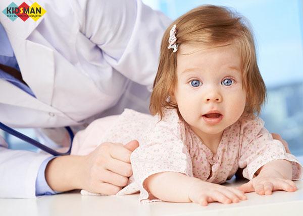 Светлый кал у ребенка 2 года причины