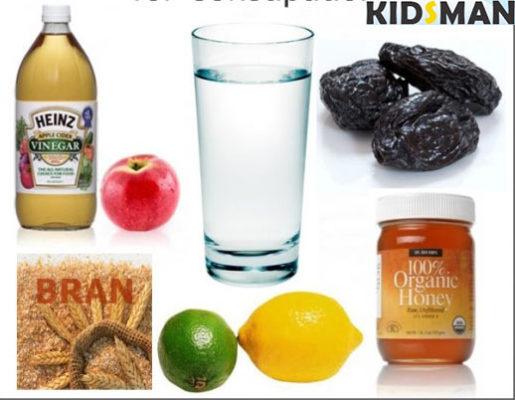 Ингредиенты для компота из чернослива