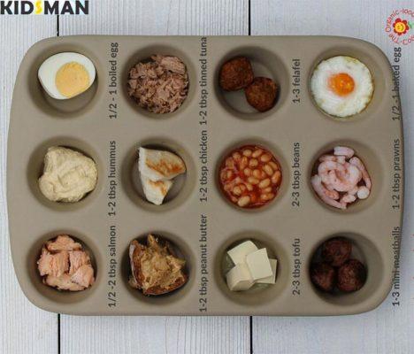 Еда для ребенка в 5 месяцев
