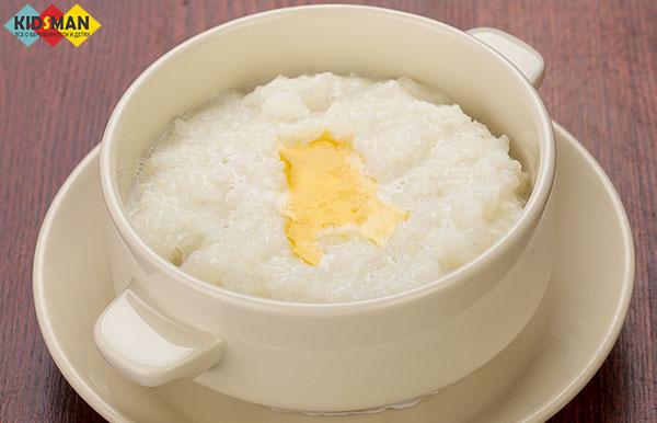 рисовая каша с маслом