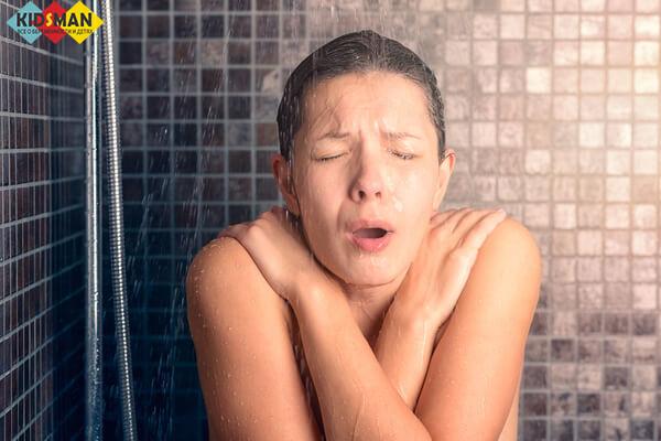 Холодный душ при грудном вскармливании